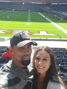 Jeannette attended Houston Texans vs. Indianapolis Colts - NFL on Dec 6th 2020 via VetTix