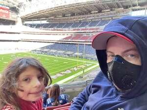 John attended Houston Texans vs. Indianapolis Colts - NFL on Dec 6th 2020 via VetTix