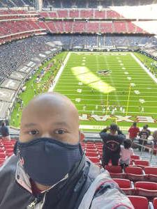 Juan attended Houston Texans vs. Indianapolis Colts - NFL on Dec 6th 2020 via VetTix