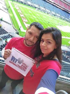 Violeta Nunez  attended Houston Texans vs. Indianapolis Colts - NFL on Dec 6th 2020 via VetTix