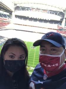 Meltran28  attended Houston Texans vs. Indianapolis Colts - NFL on Dec 6th 2020 via VetTix