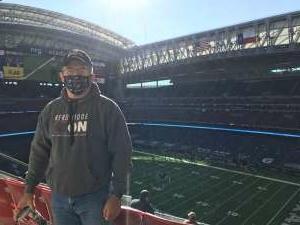 Jim Howell attended Houston Texans vs. Indianapolis Colts - NFL on Dec 6th 2020 via VetTix