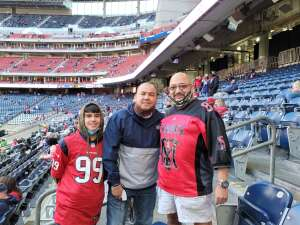 Abel  attended Houston Texans vs. Indianapolis Colts - NFL on Dec 6th 2020 via VetTix