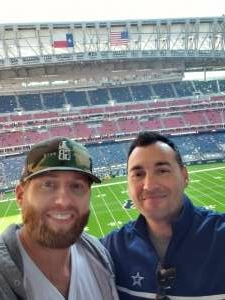 Nick Ferro attended Houston Texans vs. Indianapolis Colts - NFL on Dec 6th 2020 via VetTix