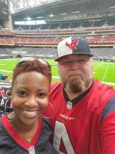 Julian B. attended Houston Texans vs. Indianapolis Colts - NFL on Dec 6th 2020 via VetTix