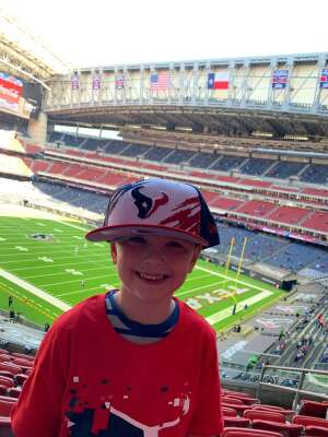 Dan attended Houston Texans vs. Indianapolis Colts - NFL on Dec 6th 2020 via VetTix