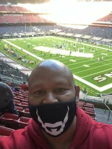 Darryl Anderson attended Houston Texans vs. Indianapolis Colts - NFL on Dec 6th 2020 via VetTix