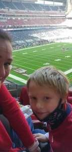 Sharon attended Houston Texans vs. Indianapolis Colts - NFL on Dec 6th 2020 via VetTix