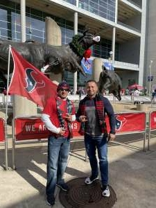 Omar attended Houston Texans vs. Indianapolis Colts - NFL on Dec 6th 2020 via VetTix