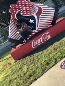 Seretha attended Houston Texans vs. Indianapolis Colts - NFL on Dec 6th 2020 via VetTix