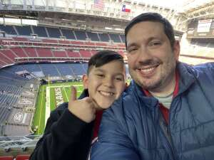 David H.  attended Houston Texans vs. Indianapolis Colts - NFL on Dec 6th 2020 via VetTix