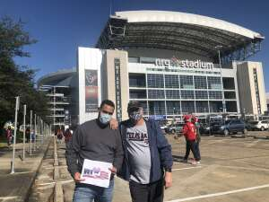 John attended Houston Texans vs. Indianapolis Colts - NFL on Dec 6th 2020 via VetTix