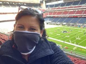 Marcey P attended Houston Texans vs. Indianapolis Colts - NFL on Dec 6th 2020 via VetTix