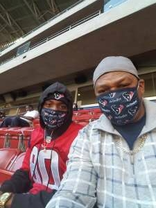 Tony attended Houston Texans vs. Indianapolis Colts - NFL on Dec 6th 2020 via VetTix