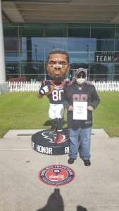 Ness attended Houston Texans vs. Indianapolis Colts - NFL on Dec 6th 2020 via VetTix