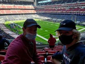 Joe attended Houston Texans vs. Indianapolis Colts - NFL on Dec 6th 2020 via VetTix