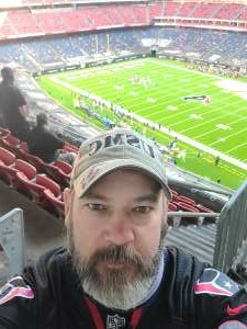 Jimmy attended Houston Texans vs. Indianapolis Colts - NFL on Dec 6th 2020 via VetTix