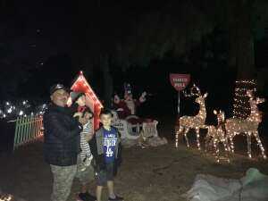 Joe attended Christmas Lights in LA on Dec 4th 2020 via VetTix