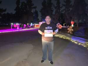 RAMON FRAYDEALFARO JR. attended Christmas Lights in LA on Dec 4th 2020 via VetTix