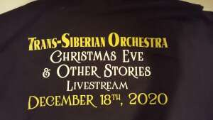 Jimmie  attended Trans Siberian Orchestra Livestream Concert Experience - Christmas Eve and Other Stories on Dec 18th 2020 via VetTix