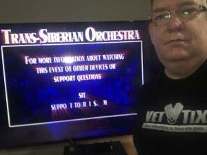 Kent attended Trans Siberian Orchestra Livestream Concert Experience - Christmas Eve and Other Stories on Dec 18th 2020 via VetTix