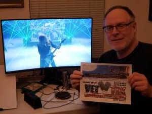 Jeff Reitz attended Trans Siberian Orchestra Livestream Concert Experience - Christmas Eve and Other Stories on Dec 18th 2020 via VetTix
