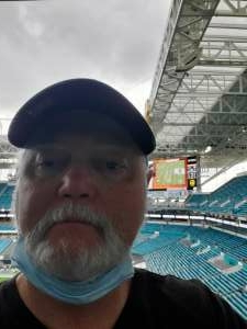 Paul attended University of Miami Hurricanes vs. University of North Carolina Tar Heels- NCAA Football on Dec 12th 2020 via VetTix
