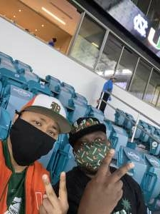 Mike attended University of Miami Hurricanes vs. University of North Carolina Tar Heels- NCAA Football on Dec 12th 2020 via VetTix