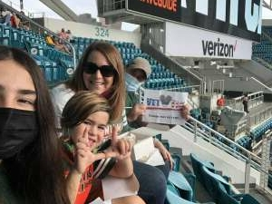 Greg McCourt attended University of Miami Hurricanes vs. University of North Carolina Tar Heels- NCAA Football on Dec 12th 2020 via VetTix