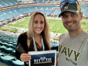 Leandro attended University of Miami Hurricanes vs. University of North Carolina Tar Heels- NCAA Football on Dec 12th 2020 via VetTix