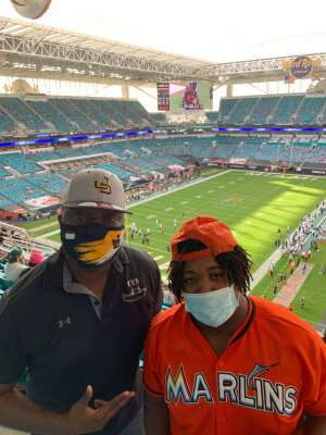 Al Hayes attended University of Miami Hurricanes vs. University of North Carolina Tar Heels- NCAA Football on Dec 12th 2020 via VetTix