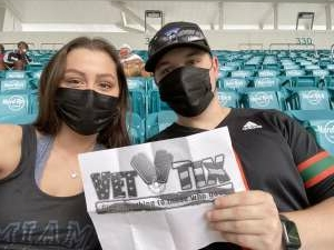 U Fans attended University of Miami Hurricanes vs. University of North Carolina Tar Heels- NCAA Football on Dec 12th 2020 via VetTix