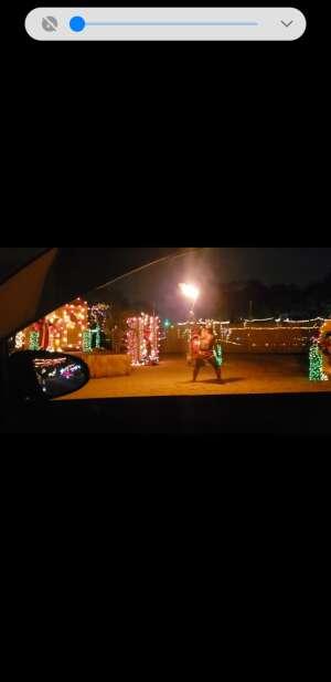 Victor attended Bosco Christmas Lights Drive-thru on Dec 10th 2020 via VetTix