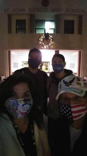 Jaime Banuelos attended Bosco Christmas Lights Drive-thru on Dec 13th 2020 via VetTix