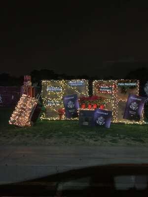 Esmeralda  attended Bosco Christmas Lights Drive-thru on Dec 13th 2020 via VetTix