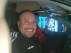 Sgt. Lepe attended Bosco Christmas Lights Drive-thru on Dec 13th 2020 via VetTix