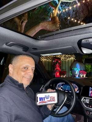 Eddie attended Bosco Christmas Lights Drive-thru on Dec 13th 2020 via VetTix