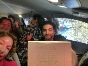 Mr. T attended Bosco Christmas Lights Drive-thru on Dec 13th 2020 via VetTix