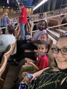 E attended Ram National Circuit Finals Rodeo - Military Appreciation Night on Apr 9th 2021 via VetTix