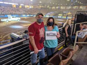LVice attended Ram National Circuit Finals Rodeo - Military Appreciation Night on Apr 9th 2021 via VetTix