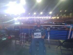 Scott attended Ram National Circuit Finals Rodeo - Military Appreciation Night on Apr 9th 2021 via VetTix