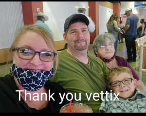 Rusty attended Ram National Circuit Finals Rodeo - Military Appreciation Night on Apr 9th 2021 via VetTix