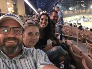 McElroy Mark attended Ram National Circuit Finals Rodeo - Military Appreciation Night on Apr 9th 2021 via VetTix