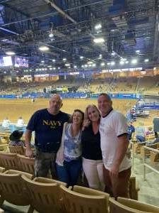 Chip attended Ram National Circuit Finals Rodeo - Military Appreciation Night on Apr 9th 2021 via VetTix