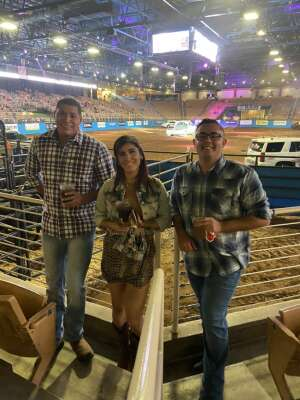 Max N.  attended Ram National Circuit Finals Rodeo - Military Appreciation Night on Apr 9th 2021 via VetTix