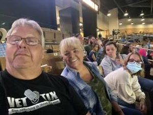 Clay locke attended Ram National Circuit Finals Rodeo - Military Appreciation Night on Apr 9th 2021 via VetTix