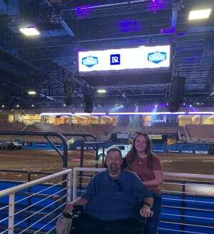 Jim attended Ram National Circuit Finals Rodeo - Military Appreciation Night on Apr 9th 2021 via VetTix