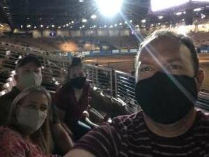 Patrick Dawson attended Ram National Circuit Finals Rodeo - Military Appreciation Night on Apr 9th 2021 via VetTix