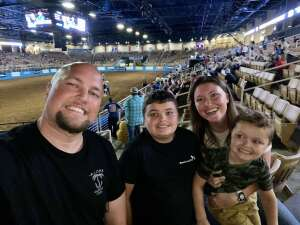 Bryan attended Ram National Circuit Finals Rodeo - Military Appreciation Night on Apr 9th 2021 via VetTix