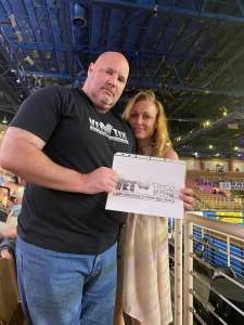 Lance Fisher attended Ram National Circuit Finals Rodeo - Military Appreciation Night on Apr 9th 2021 via VetTix